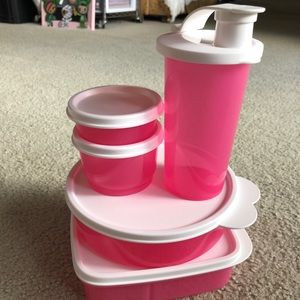 Brand new tupperware kids 5 piece set